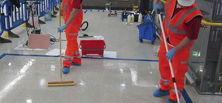 Anti-slip Treatment for Floors