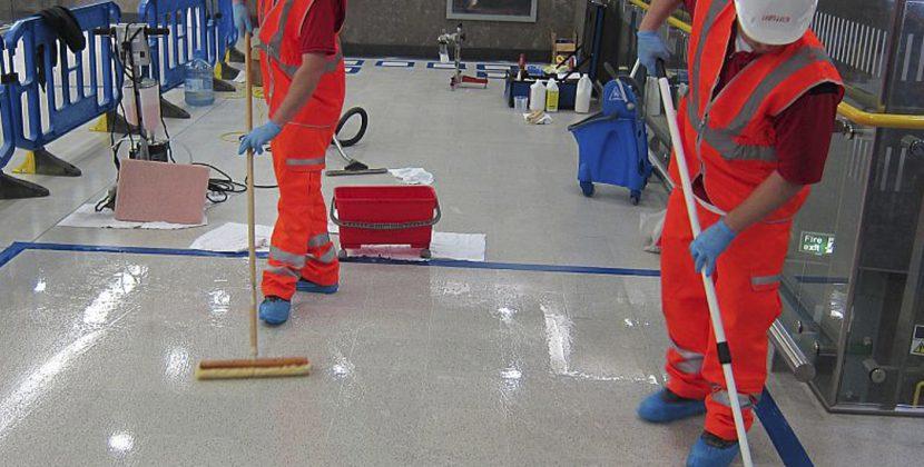 Anti-slip Treatment for Floors