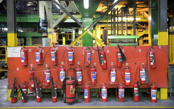 Manufacturing Fire Extinguisher