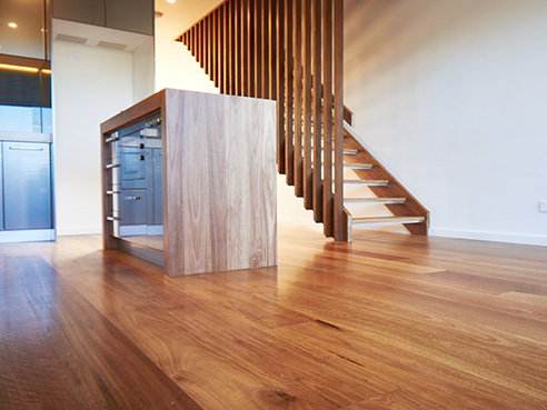 Timber flooring is a floor that is made of only hardwood.