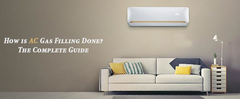 How is AC gas filling done? The complete guide