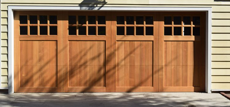 Some Important Benefits Of Customized Garage Doors