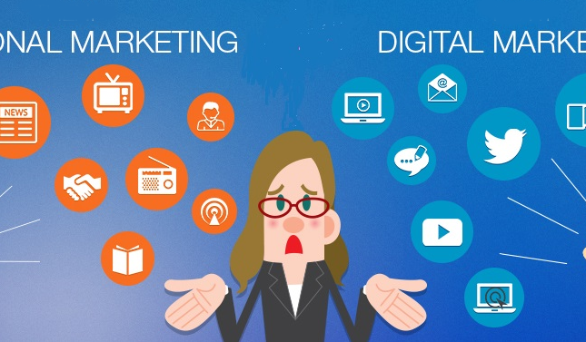 Why online & traditional marketing are completely different