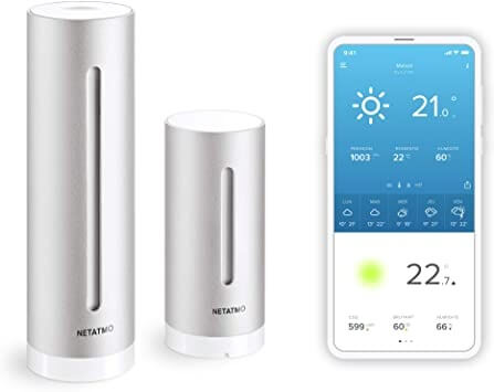 Mounting an old-school thermometer is so yesterday! Smart weather monitoring kits like Netatmo's Weather Station include both indoor and outdoor units, and they can connect to both your Wi-Fi and your smartphone.