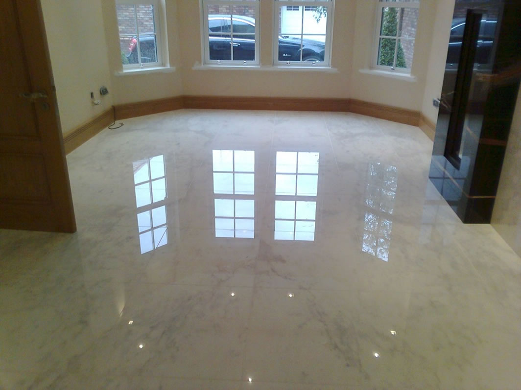 marble floor refinishing