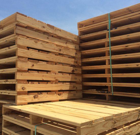 new wood pallets