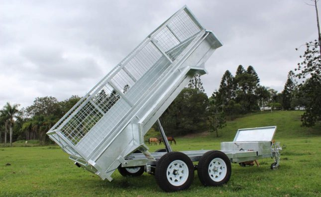 hydraulic tipping trailer sydney