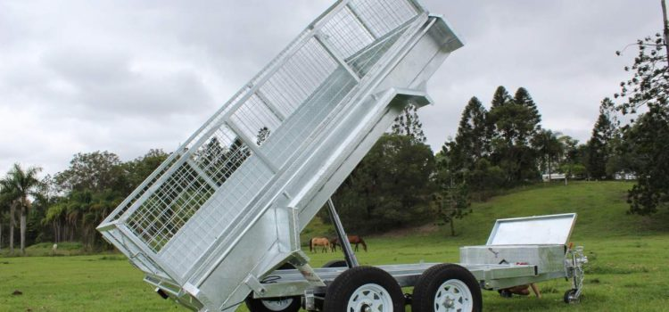 All you need to know about hydraulic tipping trailers