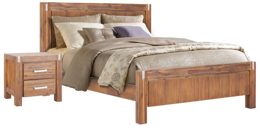 Beneficial Hardwood Bed Frame