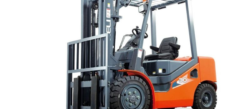 Loading and unloading becomes simple with forklifts