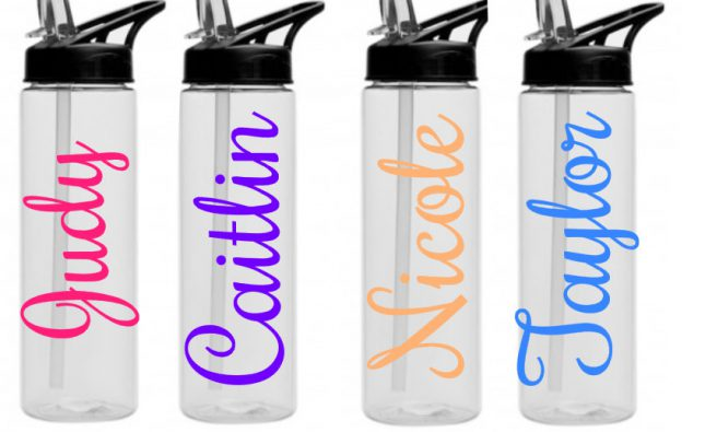 Things you need to know before buying water bottle labels