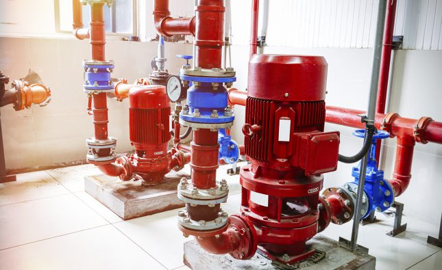 Pumps are important in thermal power plants, desalination plants. The pumps here used in power plants are different and distinct. These are high pressure water pumps that they use.