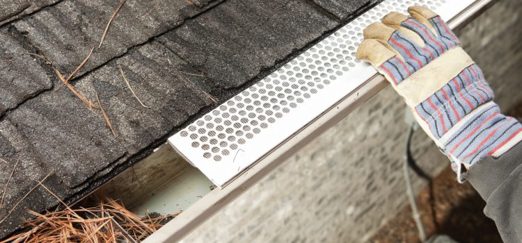 Beginners guide for install the gutter guards