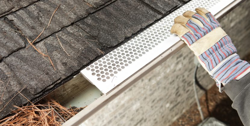 The insertion of gutter guards which include foam, brush and plastic guards that can be directly inserted in your gutters. Before buying you need to look for the gutter guards cost which is very important to consider.