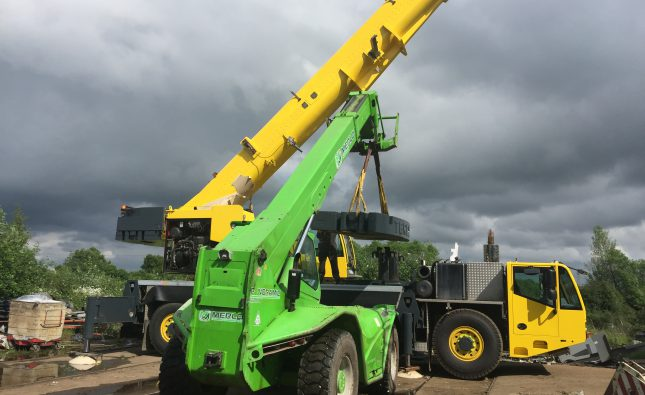 hire telescoping handler