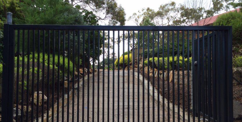 Steel gates Sydney