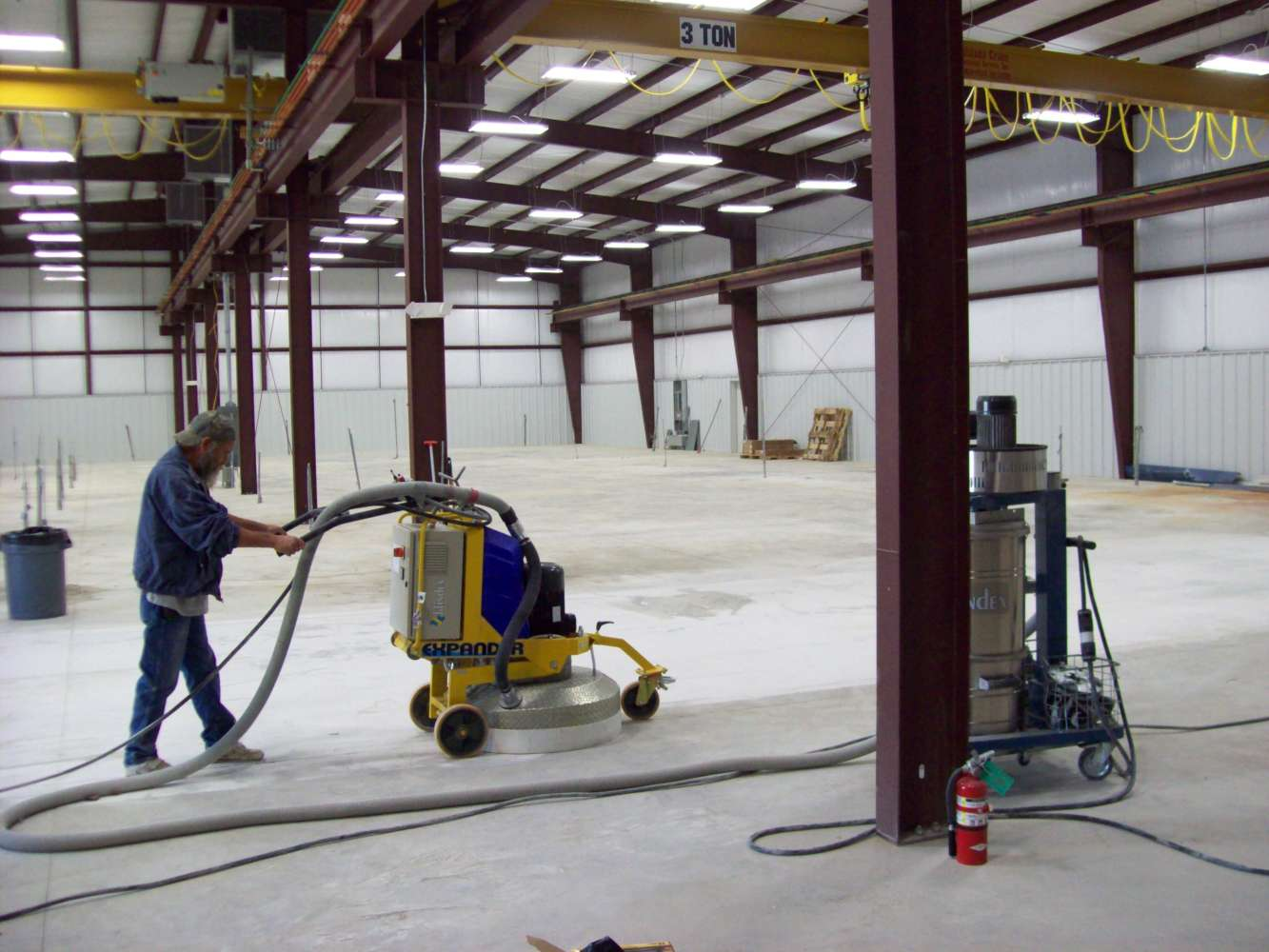 Renew The Floor With Concrete Polishing