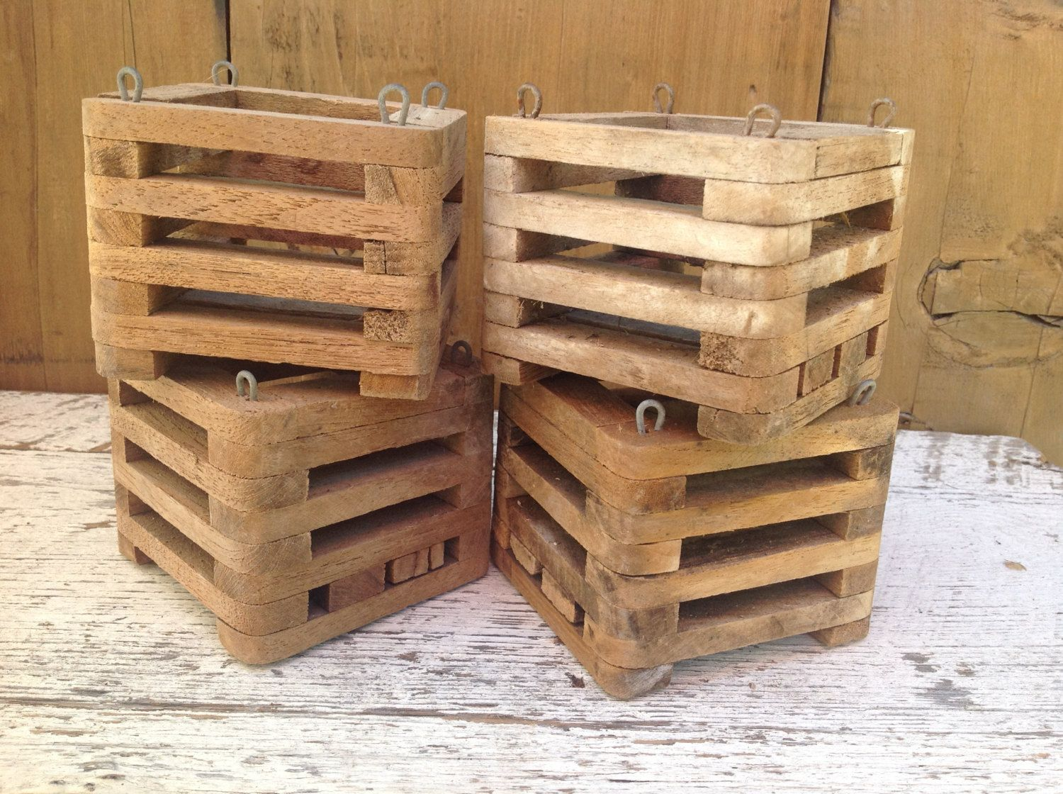 Decorative Ways To Use Small Wooden Crates Instead Of Throwing Them Away