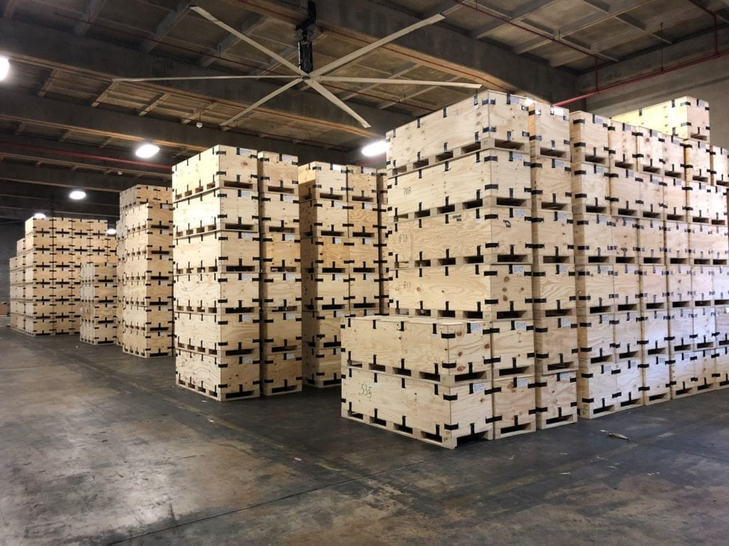 Wooden Shipping Crates – Hard To Crack Open, Thus Keeping Items Safe